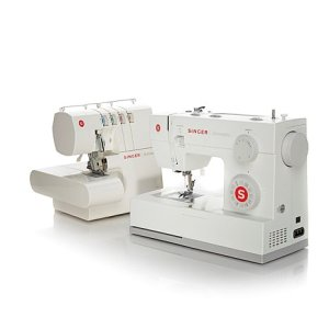singer scholastic sewing machine and serger duo