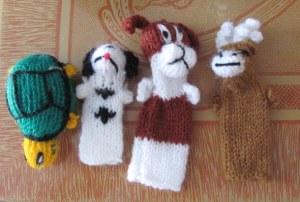 2014 finger puppets